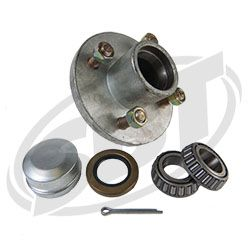 "4-Bolt Hub Kit 1"" Bearing Size"