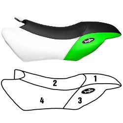 Yamaha PWC Standard Seat Cover 00-02 GP1200R 02 GP800R Blacktip Jetsports 108BT416-P
