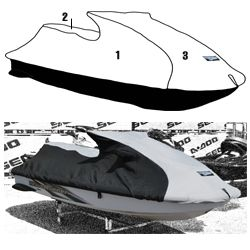 Yamaha PWC Custom Storage Cover 1998-1999 XL760 - 1998 XL1200 - 1999-2004 XL700 Watercraft Superstore  111WS408-C