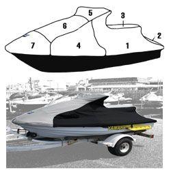 Yamaha PWC Custom Storage Cover 1994-1997 Wave Raider 700 760 1100 Watercraft Superstore  111WS412-C
