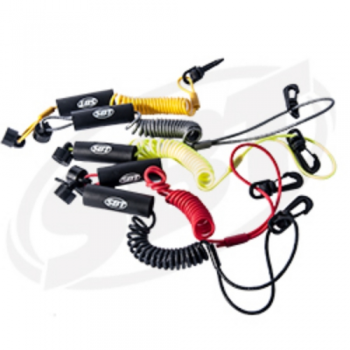 Floating Lanyard Seadoo PWC Non-DESS With Clip Silver SBT 12-111S