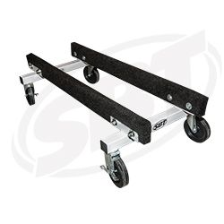 """PWC Shop Cart - 12"""" High 18"""" Bunk Centers With 6"""" Wheels SBT 12-501A"""