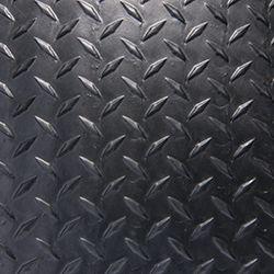 Black Diamond Plate - With Adhesive