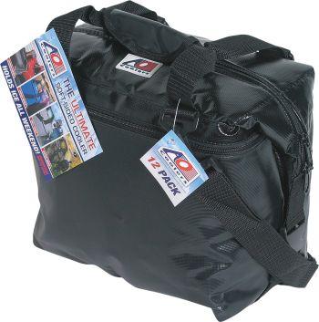 "AO COOLERS - VINYL COOLER 12/PK BLACK 14""X7""X12"" - 45-27120"