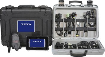 TEXA - SNOW CABLE KIT W/TABLET W/CASE - 130-0005