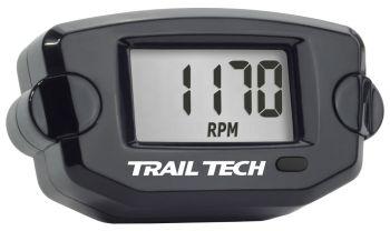 TRAIL TECH - TTO TACH HOUR METER BLACK - 665-0032