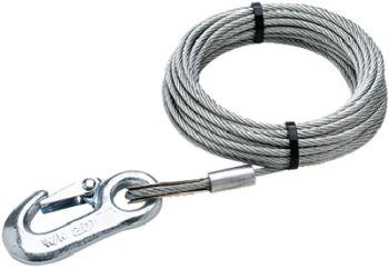 """Trailer Winch Cable Galvanized 25' 5/32"""" Seachoice 51171"""