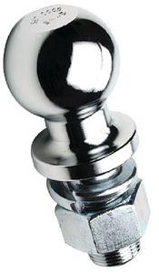 "Trailer Hitch Ball Chrome Plated Steel 2"" Seachoice 51331"