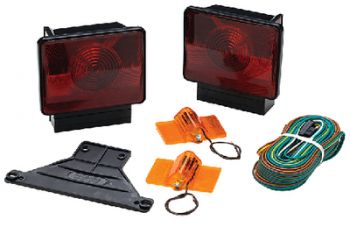 Submersible Trailer Light Kit Deluxe With Side Lights Seachoice 51441