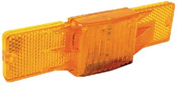 Trailer Submersible Amber Side Marker Light With Reflector Seachoice 51841