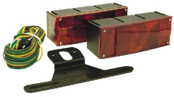 """Submersible Trailer Light Kit Low Profile Over 80"""" Seachoice 51951"""