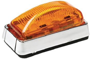 Submersible Trailer Light LED Amber Side Marker Seachoice 51971