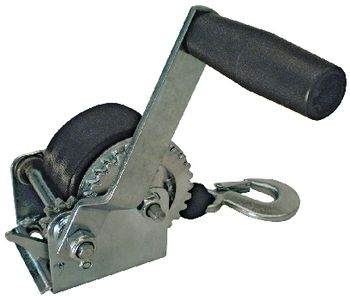 """Trailer Winch Manual 800# Load With 2"""" Seachoice 52131"""