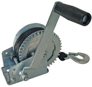 """Trailer Winch Manual 1000# Load With 2"""" Seachoice 52161"""