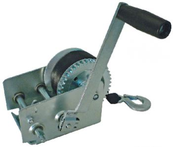 """Trailer Winch Manual 2000# Load With 2"""" Seachoice 52251"""