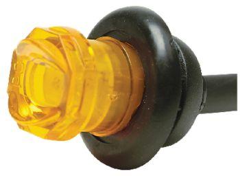 """Trailer LED Marker Light Amber 3/4"""" Seachoice 52671"""