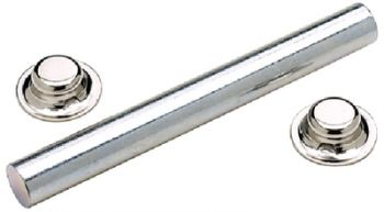 """Trailer Roller Shaft And Nuts 1/2"""" Seachoice 55731"""