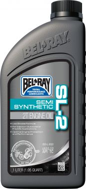 BEL-RAY - SL-2 SEMI-SYNTHETIC 2T ENGINE OIL 1L - 840-0310