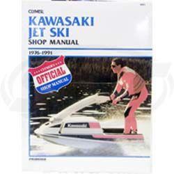 Kawasaki PWC Service Manual 1976-1991 SBT 85-801