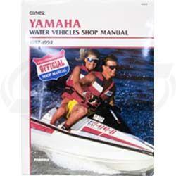 Yamaha PWC Service Manual 1987-1992 Waverunner 500 650 SBT 85-805