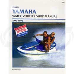 Yamaha PWC Service Manual 1993-1996 Waverunner 700 1100 760 SBT 85-806