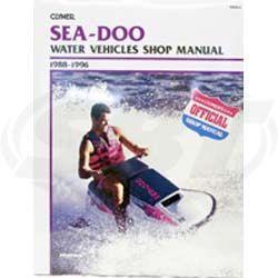Sea-Doo PWC Service Manual 1988-1996 SBT 85-809