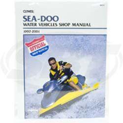 Sea-Doo PWC Service Manual 1997-2001 SBT 85-810