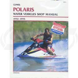 Polaris PWC Service Manual 1992-1995 SBT 85-819