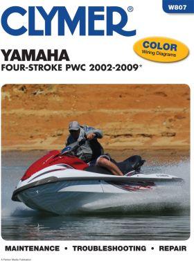 CLYMER - REPAIR MANUAL W/C YAMAHA - 27-W807