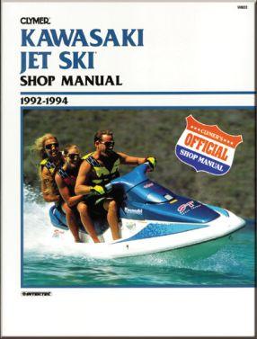 CLYMER - REPAIR MANUAL W/C JETSKI - 27-W802