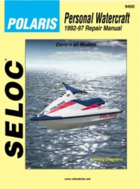 Repair Manual Polaris PWC 92-97 650 700 750 780 900 1050 Seloc 9400