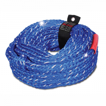 Watersports Tube Tow Rope 6 Rider 1 Section 6000# 60' Airhead Bling AHTR-16BL