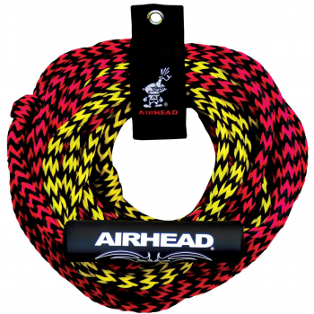 Watersports Tube Tow Rope 2 Riders 2 Section 2375# 60' Airhead AHTR-22