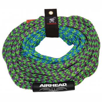 Watersports Tube Tow Rope 4 Riders 2 Section 4150# 60' Airhead AHTR-42