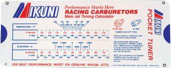 MIKUNI - CARBURETOR POCKET TUNER - 13-2430