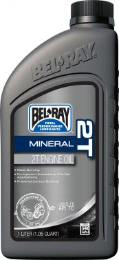 BEL-RAY - 2T MINERAL ENGINE OIL 1L - 840-0302