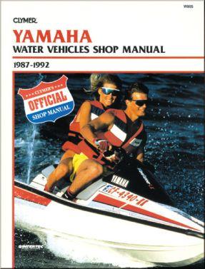 CLYMER - REPAIR MANUAL W/C YAMAHA - 27-W805