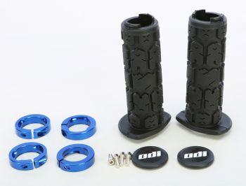 ODI - ATV ROGUE LOCKON GRIP 120MM BLACK/BLUE - 206-1241