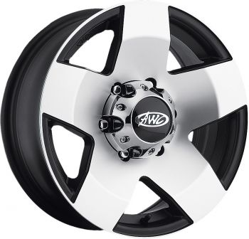 "AWC - 850 SERIES ALUMINUM TRAILER WHEEL 14""X5.5"" - 58-8041"