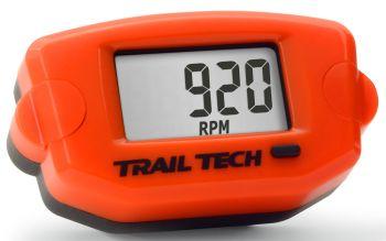 TRAIL TECH - TTO TACH HOUR METER ORANGE - 665-0032OR