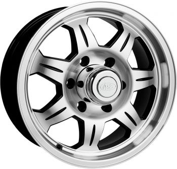 "AWC - 870 SERIES ALUMINUM TRAILER WHEEL 12""X4"" - 58-8050"