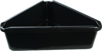 MIDWEST CAN - TRIANGLE DRAIN PAN 7.5QT - 28-1340