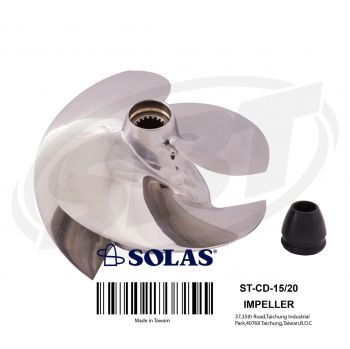 Sea-Doo PWC Concord Performance Impeller 951 XP XP DI RX RX DI GTX GTX DI Solas ST-CD-15/20
