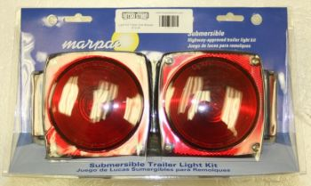 """Submersible Trailer Light Kit 80"""" Or Less Wide Marpac TL-9RKD"""