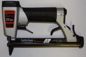 Upholstery Stapler Pneumatic 22 Gauge Fine Wire Unicatch USC71/16